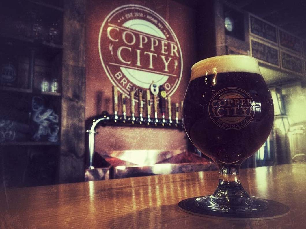 HOLD YOUR NEXT EVENT AT COPPER CITY BREWING COMPANY